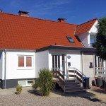 Neue Fassade am Haus Angela Kellenhuen