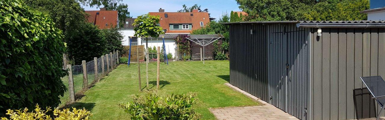 Garten am Ferienhaus Angela und Andy in Kellenhusen