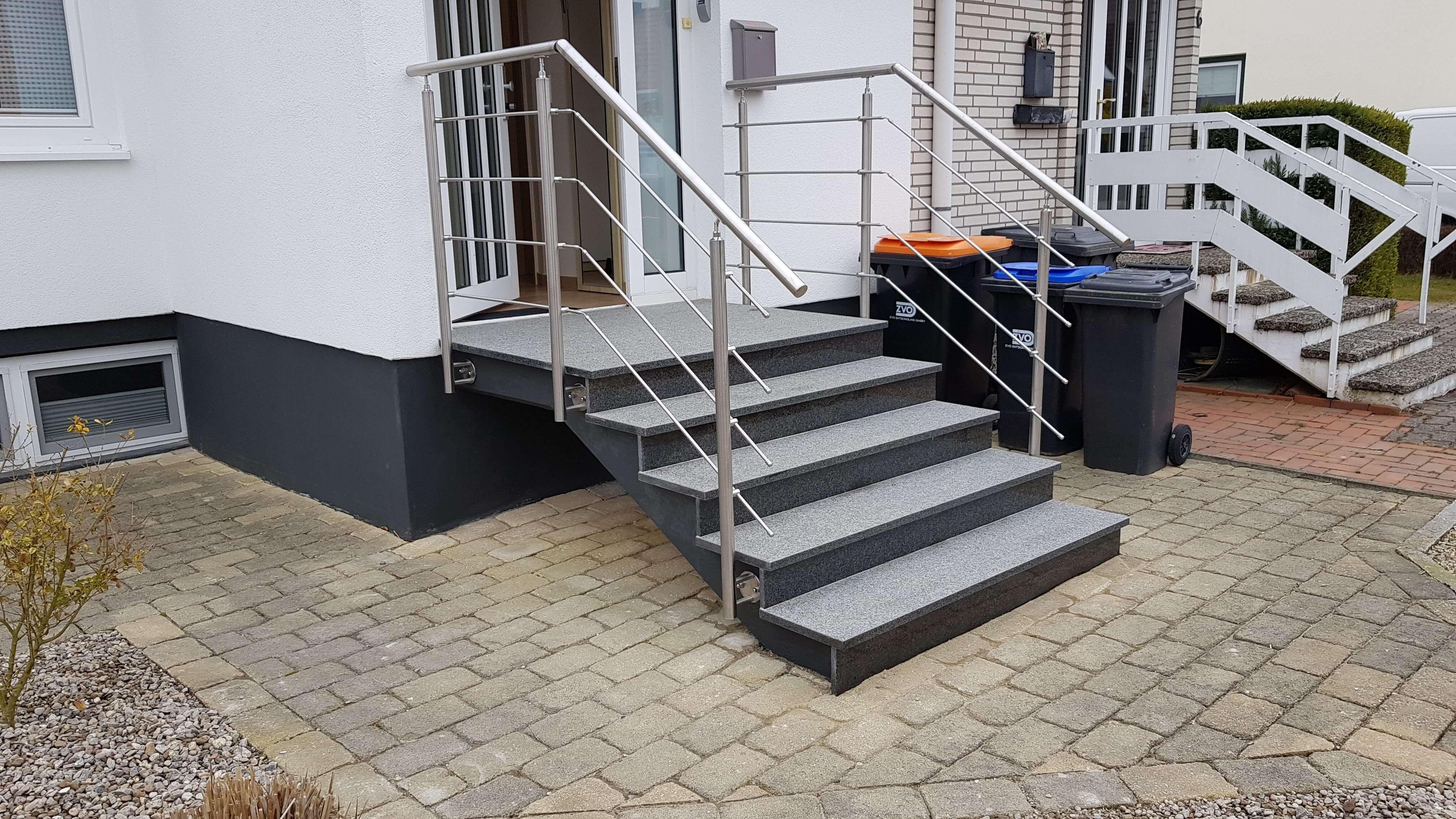 Neue Treppe im Ferienhaus Angela Kellenhusen