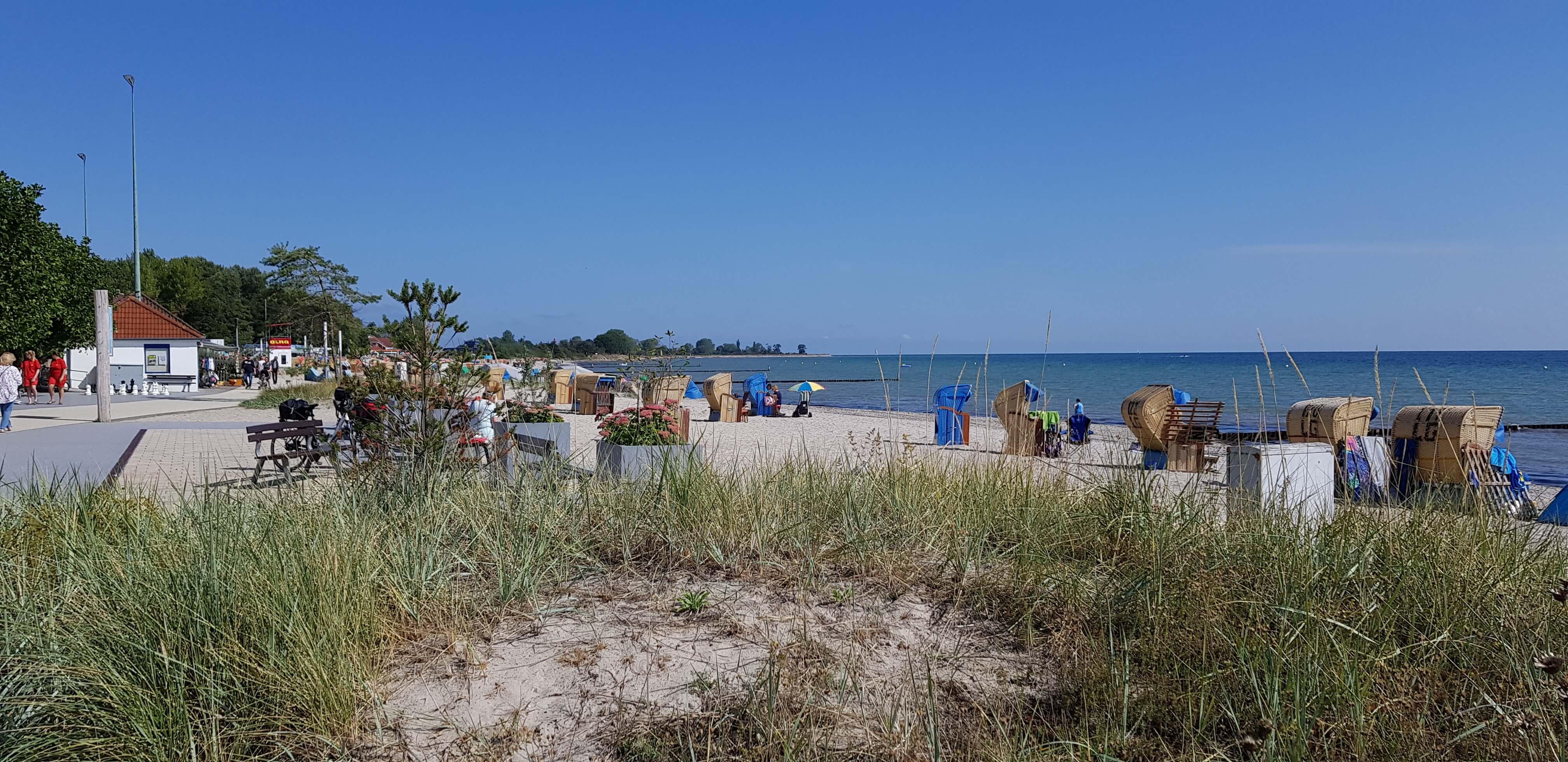 Strand beim Ferienhaus Angela Kellenhusen