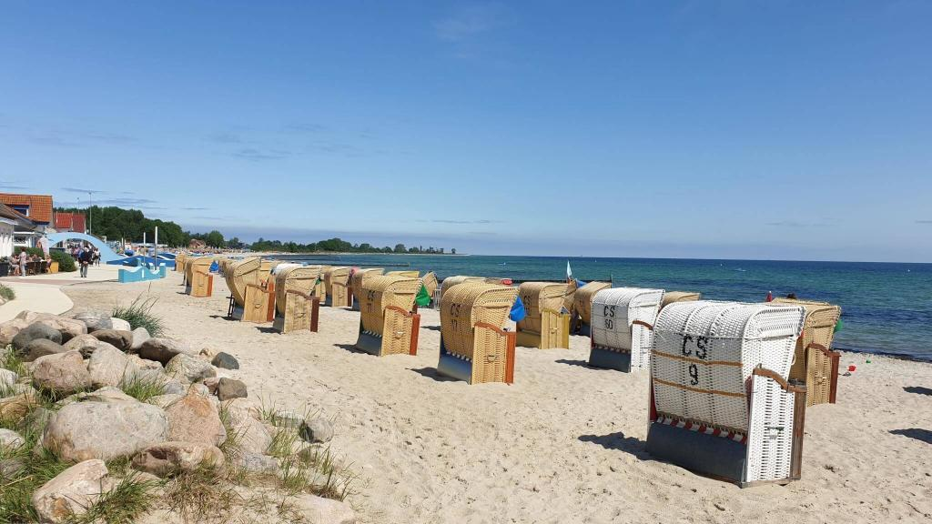 Strand in Kellenhusen beim Ferienhaus Angela