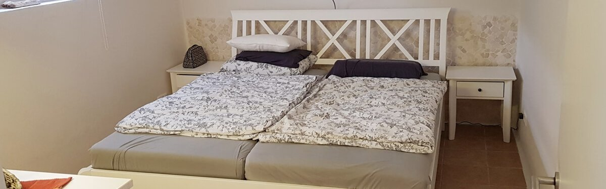 Einliegerwohnung Schlafzimmer Ferienhaus Angela Kellenhusen